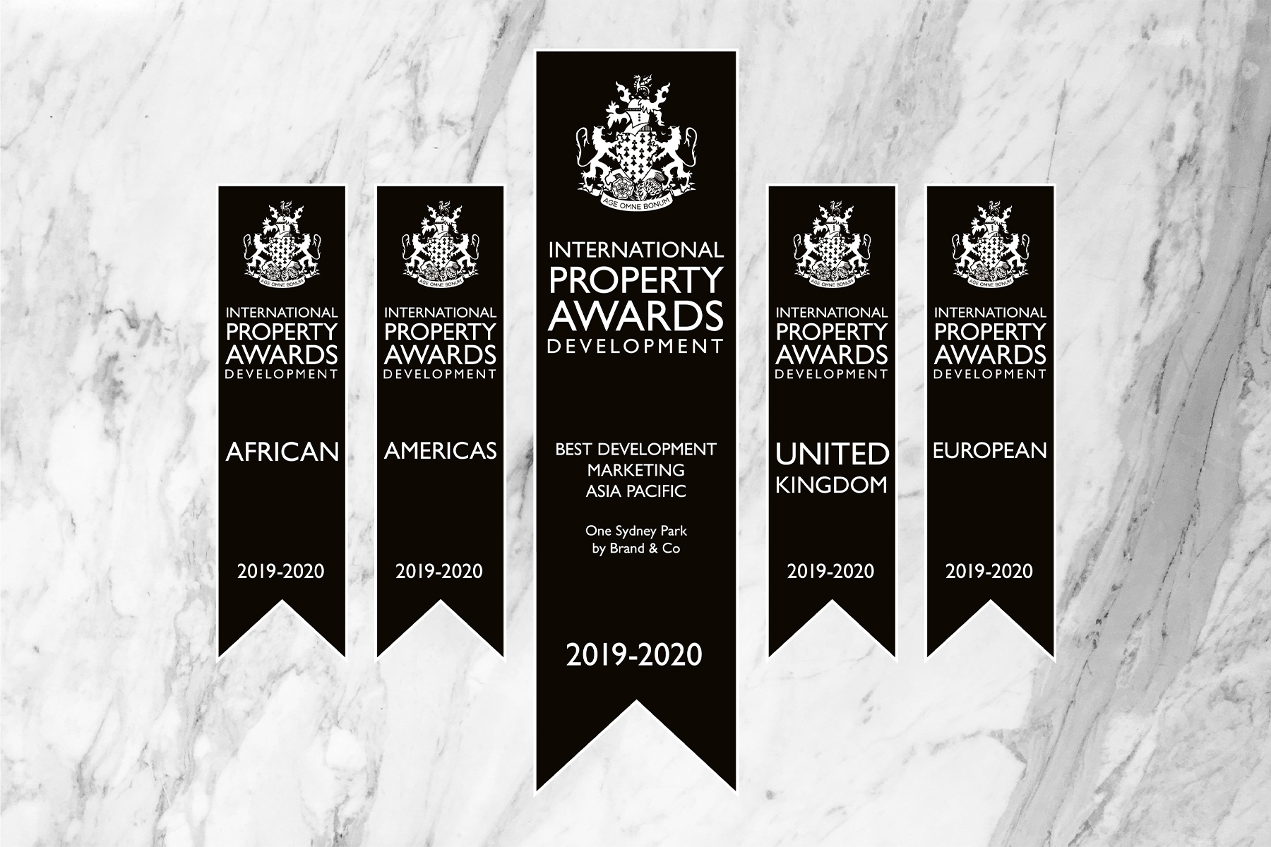 Prestigious International Property Award goes to Sydney creative agency  Brand & Co bring home agency gold