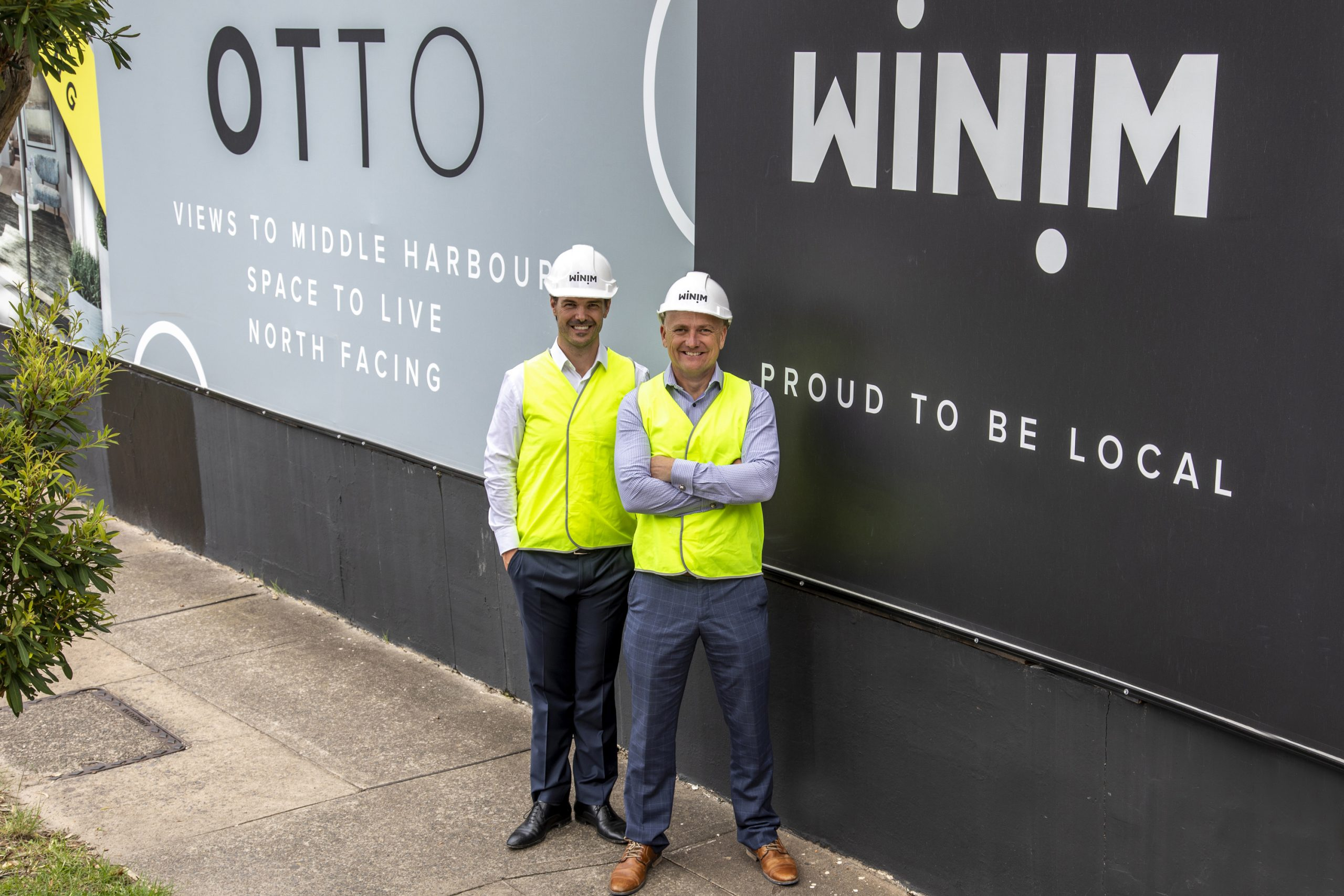 WINIM starts construction of new high-end boutique apartments on Sydney's Lower North Shore – Otto, Cremorne