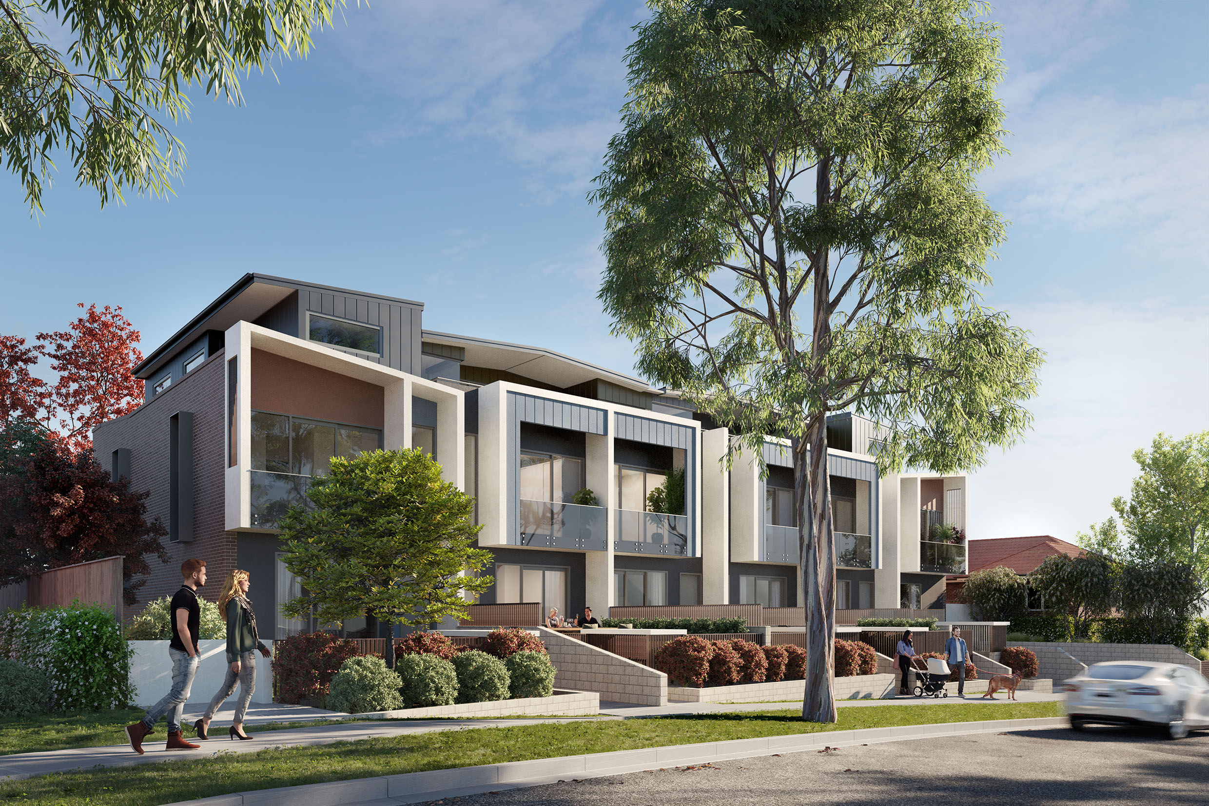 Premium Terraces Fill Demand Gap in Family Friendly Willoughby