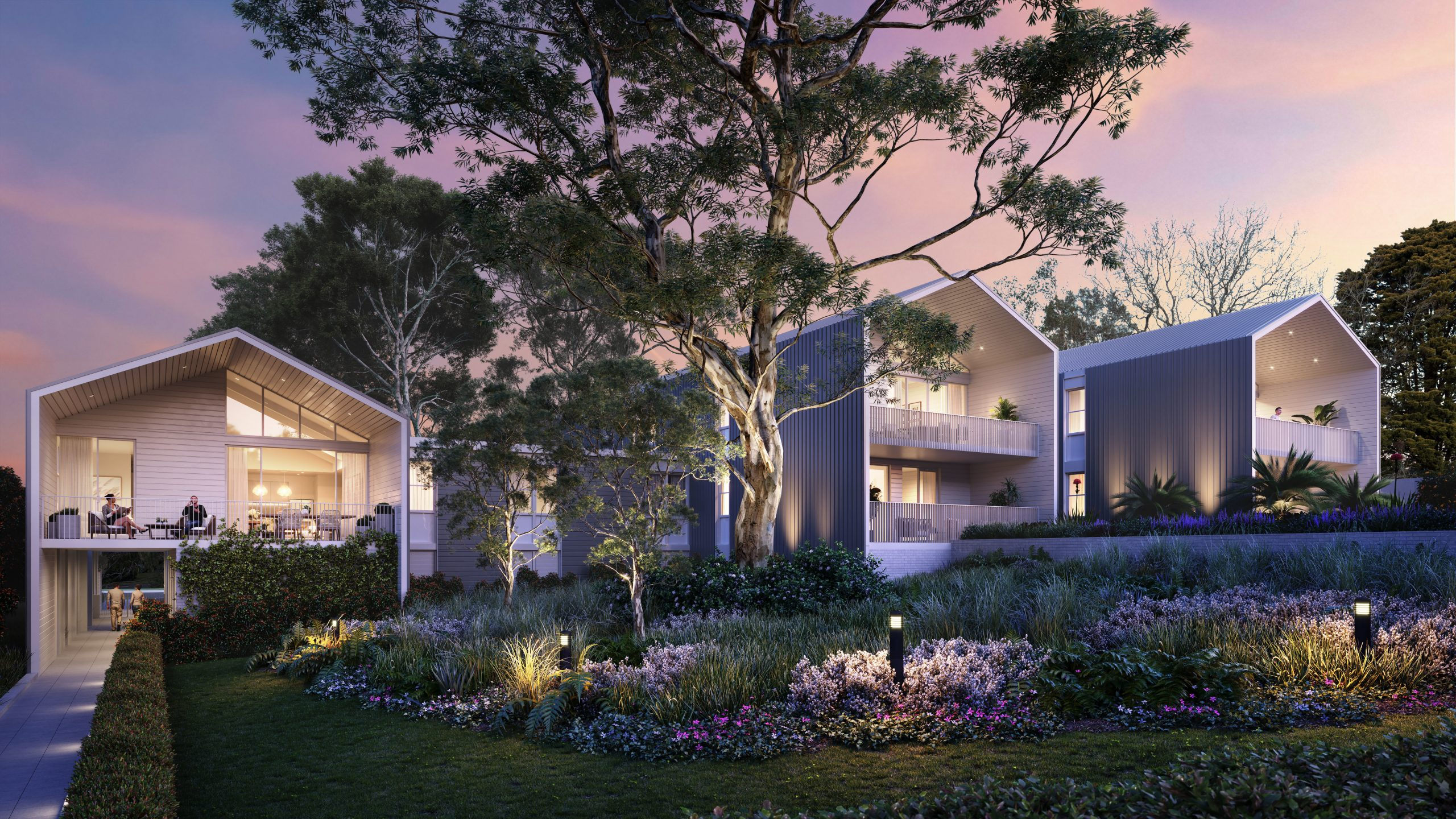"Buyers devour Sydney's newest-style <span class=""pt_splitter pt_splitter-1"">luxury 'town-homes' as appetite for quality over-55s market soars</span>"