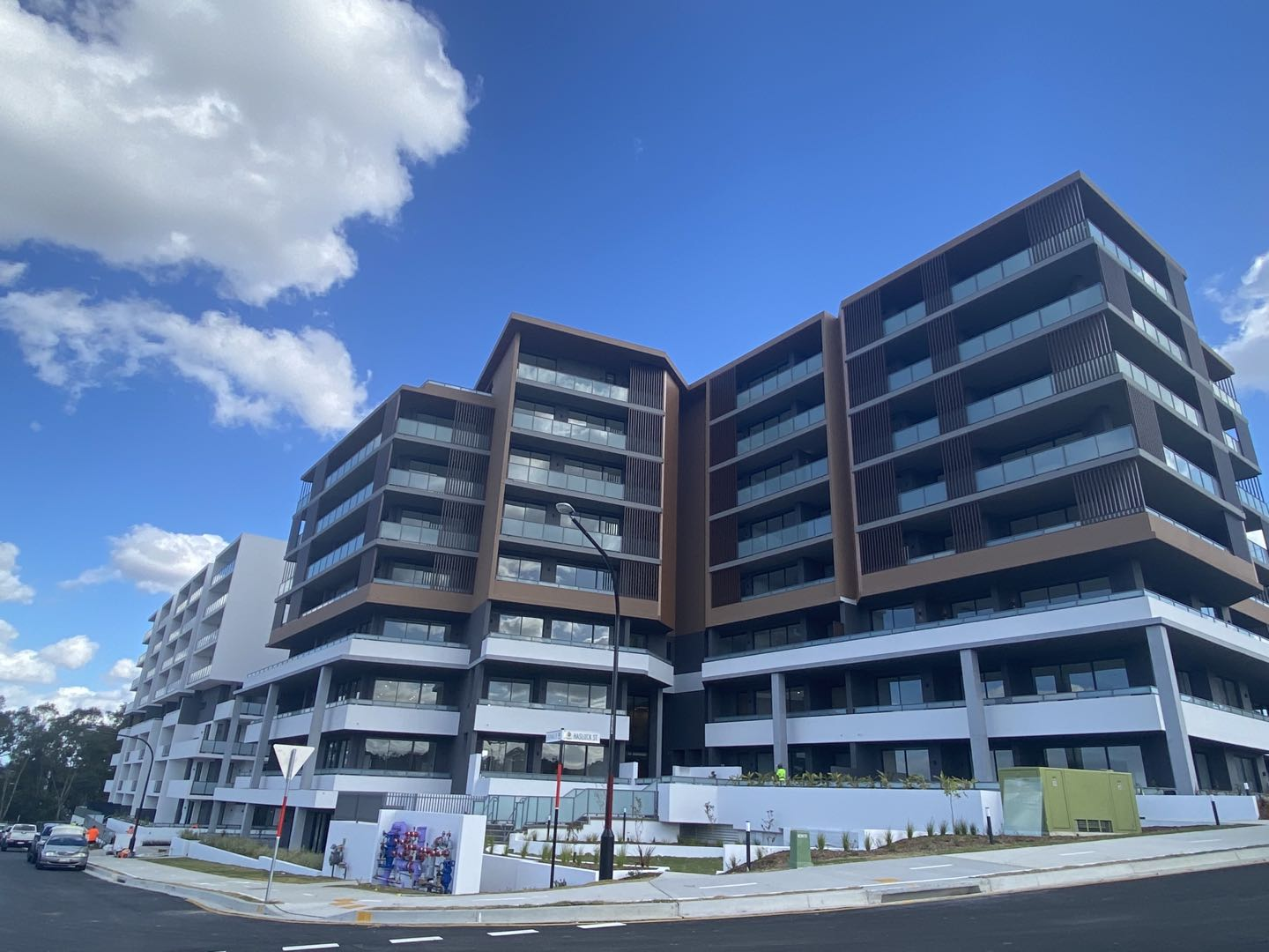 CDMA Australia completes first residential building at  Rosella Place, Rouse Hill