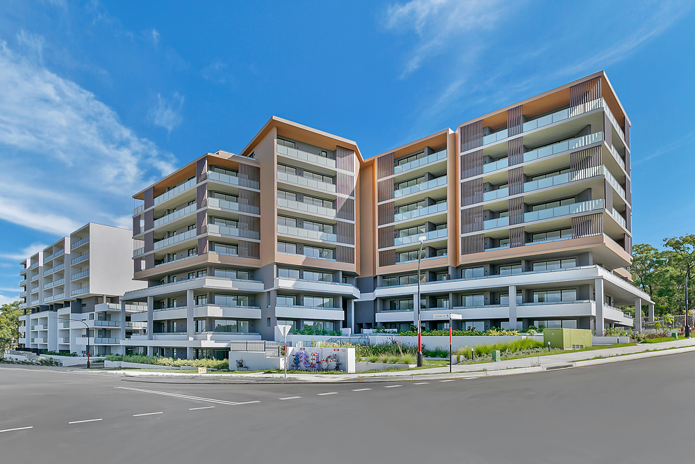 Valuations stack up for buyers settling their new apartments at Rosella Place in Rouse Hill